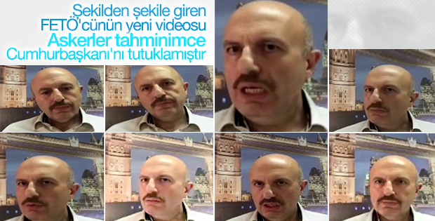 FETÖ'cü Kerim Balcı'nın yeni görüntüleri