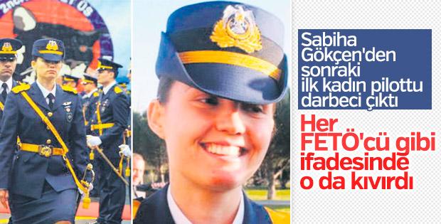 Darbeci kadın pilot Kerime Yıldırım'ın ifadesi