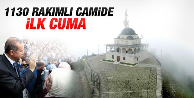 Kıble Dağı'ndaki Hacı Hafız Yusuf Yılmaz Camisi açıldı