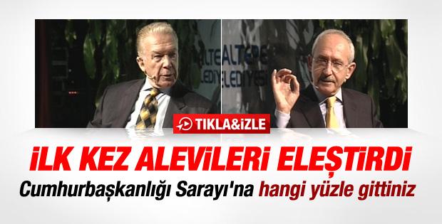 Kılıçdaroğlu ilk kez Alevileri eleştirdi - İzle