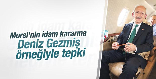 Kılıçdaroğlu'ndan Mursi'nin idam kararına tepki