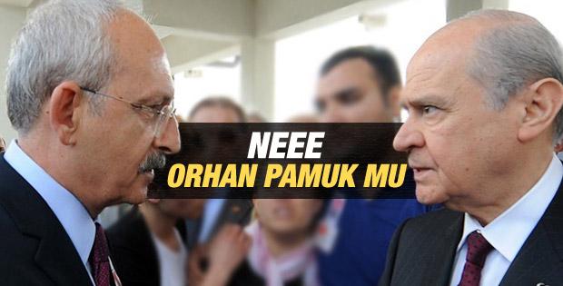 Kılıçdaroğlu: Köşk için Orhan Pamuk'u da düşündük