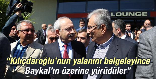 Deniz Baykal Kılıçdaroğlu'nun yalanını belgeledi