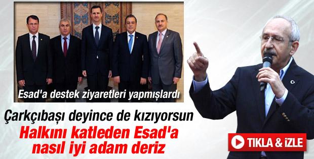 Kılıçdaroğlu: Esad yönetimini savunmadık