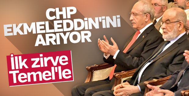 Kemal Kılıçdaroğlu Temel Karamollaoğlu görüşmesi