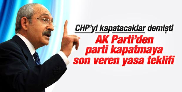 AK Parti'den Kılıçdaroğlu'nun iddiasını çürüten yasa teklifi