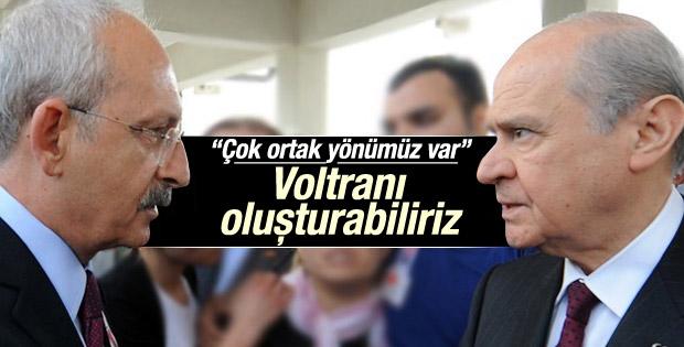 Kılıçdaroğlu: MHP ile koalisyon kurabiliriz