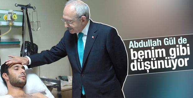 Kılıçdaroğlu: Abdullah Gül'le ortak kaygılarımız var