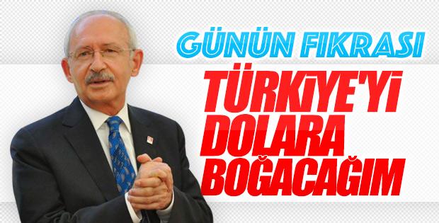 Kemal Kılıçdaroğlu'nun dolar vaadi
