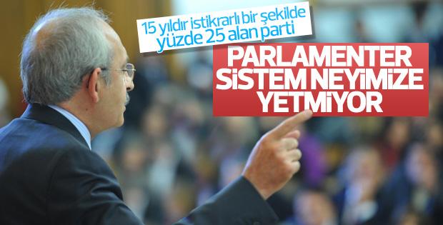 Kemal Kılıçdaroğlu Anayasa teklifini eleştirdi