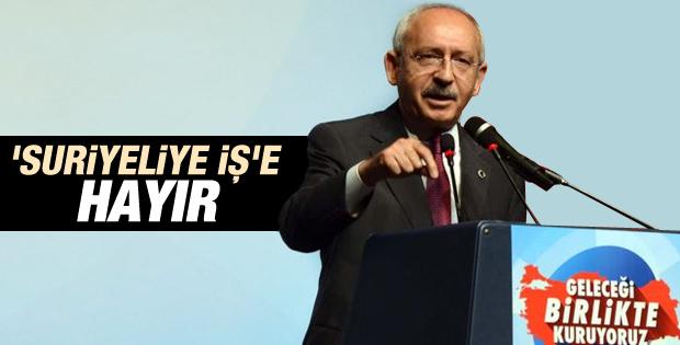 Kılıçdaroğlu Suriyelilerle işsizlerin sayısını kıyasladı