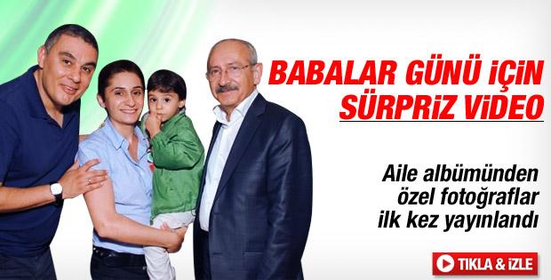 Çocukları Kılıçdaroğlu'na Babalar Günü sürprizi yaptı