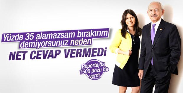 Kemal Kılıçdaroğlu: Koltuk sevdalısı değilim