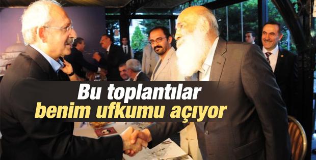 Kemal Kılıçdaroğlu din adamlarıyla iftarda buluştu İZLE
