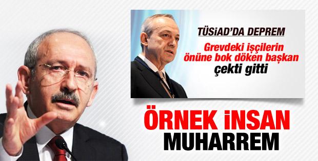 Kemal Kılıçdaroğlu'ndan TÜSİAD'a ziyaret İZLE