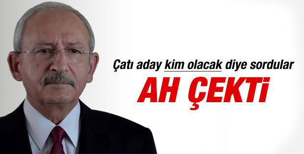 Kılıçdaroğlu: Kimin aday olacağını ben de bilmiyorum