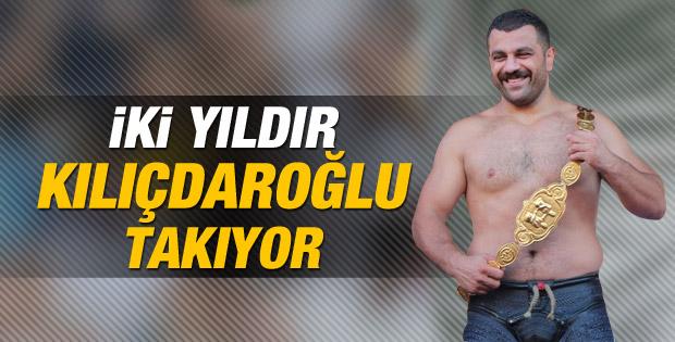 Kırkpınar'da iki yıldır altın kemeri Kılıçdaroğlu takıyor İZLE