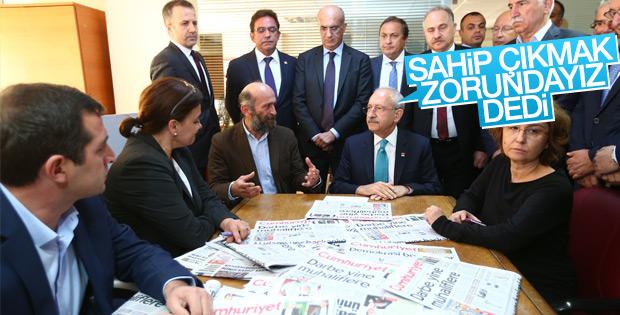 Kılıçdaroğlu'ndan Cumhuriyet Gazetesi açıklaması