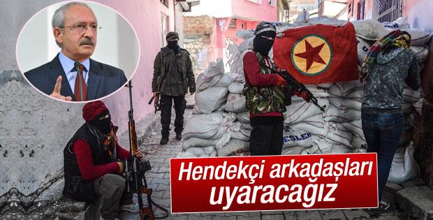 Kılıçdaroğlu: Elimizden ne geliyorsa yapacağız