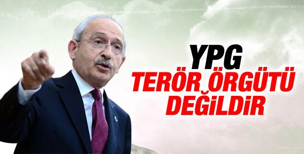 Kılıçdaroğlu: YPG terör örgütü değildir