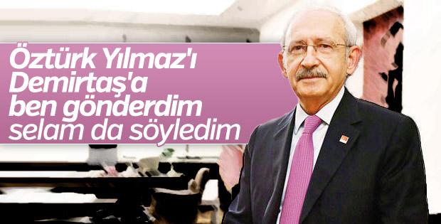 Kılıçdaroğlu'na Öztürk Yılmaz'ın Demirtaş ziyareti soruldu