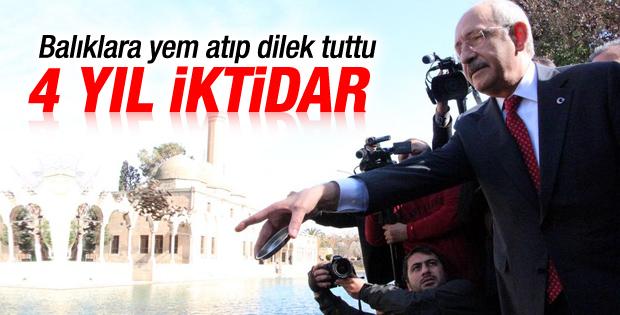 Kılıçdaroğlu Balıklı Göl'de iktidar olmayı diledi