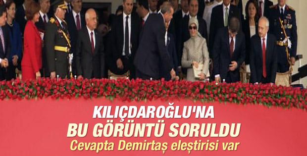 CHP Lideri Kılıçdaroğlu'ndan tokalaşma açıklaması