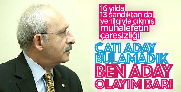 CHP'de Kemal Kılıçdaroğlu'nun adaylığı gündemde