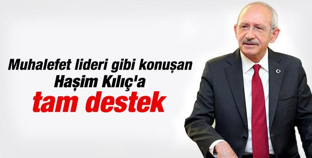 Kılıçdaroğlu'ndan Haşim Kılıç'a destek