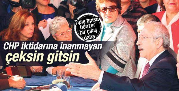 Kılıçdaroğlu: İktidara inanmayan CHP'den ayrılsın İZLE