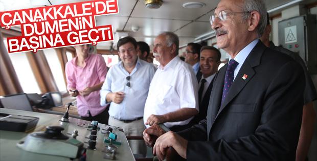 CHP Genel Başkanı Kılıçdaroğlu Çanakkale'de