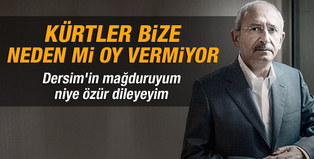Kılıçdaroğlu: Kürtler bize neden mi oy vermiyor