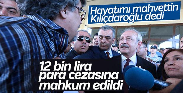 Kılıçdaroğlu'na hakaret eden heykeltıraşa para cezası