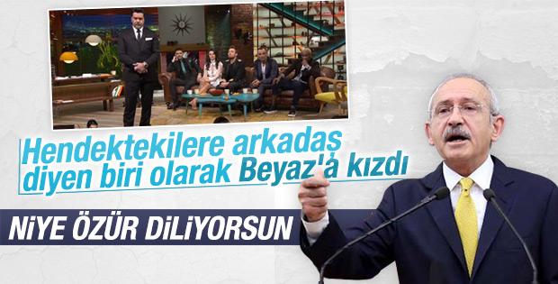 Kemal Kılıçdaroğlu Beyaz'a seslendi: Cesaretin yok mu
