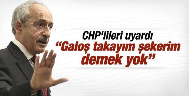 Kılıçdaroğlu'ndan partililere bir uyarı daha