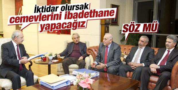Kılıçdaroğlu'ndan cemevi sözü