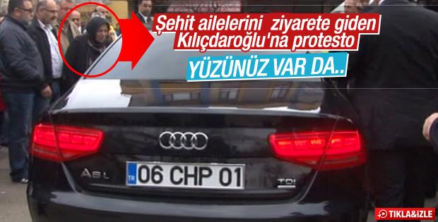 Kılıçdaroğlu'na vatandaştan tepki: Arka çıkıyordunuz ya