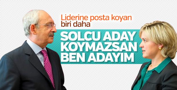 Böke ve Cihaner Kılıçdaroğlu'ndan solcu aday istedi