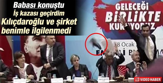 Kılıçdaroğlu'na ayakkabı fırlatan saldırganın babası konuştu
