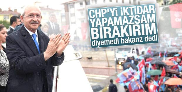 Kılıçdaroğlu istifa sorusunu yine geçiştirdi