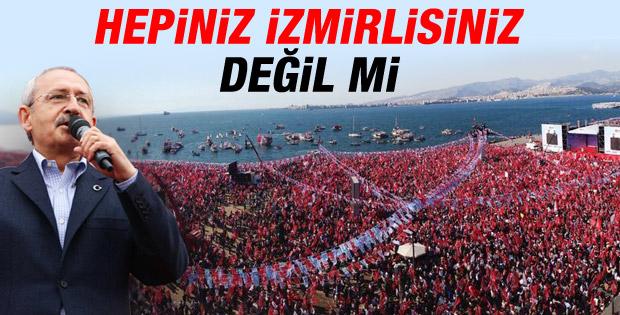 Kemal Kılıçdaroğlu'nun İzmir mitingi konuşması İZLE