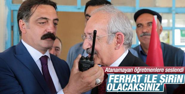 Kılıçdaroğlu'ndan atanamayan öğretmenlere mesaj