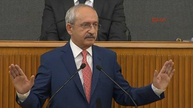 Kılıçdaroğlu grup konuşmasında yine kaset dinletti - izle