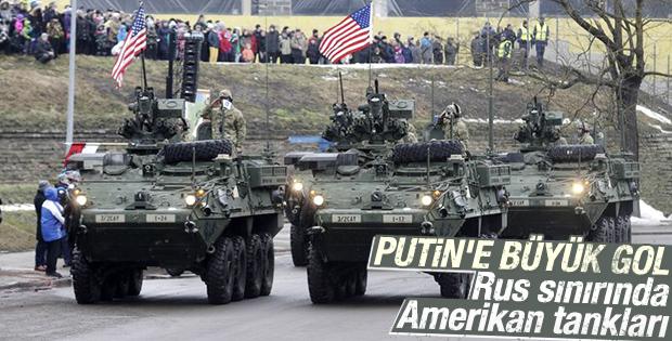 Amerikan zırhlıları Ruslara gözdağı verdi