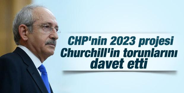 Kılıçdaroğlu Churchill'in torunlarıyla buluşacak