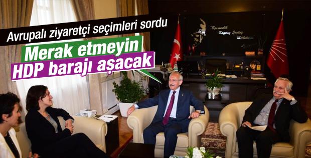 Kılıçdaroğlu'ndan HDP yorumu: Barajı geçecekler