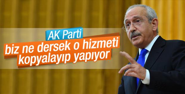 Kılıçdaroğlu: Hükümet seçim vaatlerimizi takip ediyor
