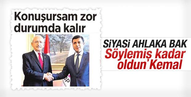 Kılıçdaroğlu: Davutoğlu zor durumda kalır