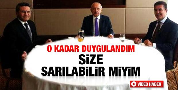 Kılıçdaroğlu ile Sarıgül arasında duygusal konuşma - izle