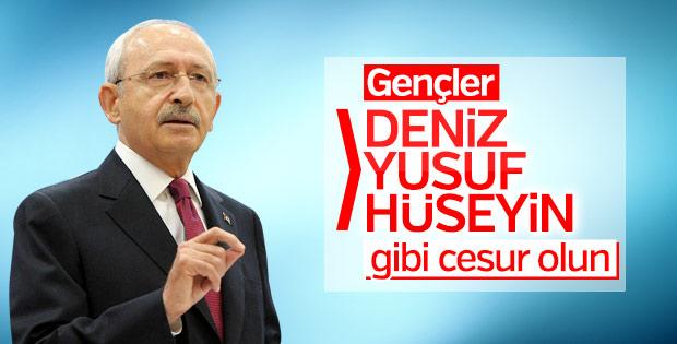 Kemal Kılıçdaroğlu Deniz Gezmiş'i andı